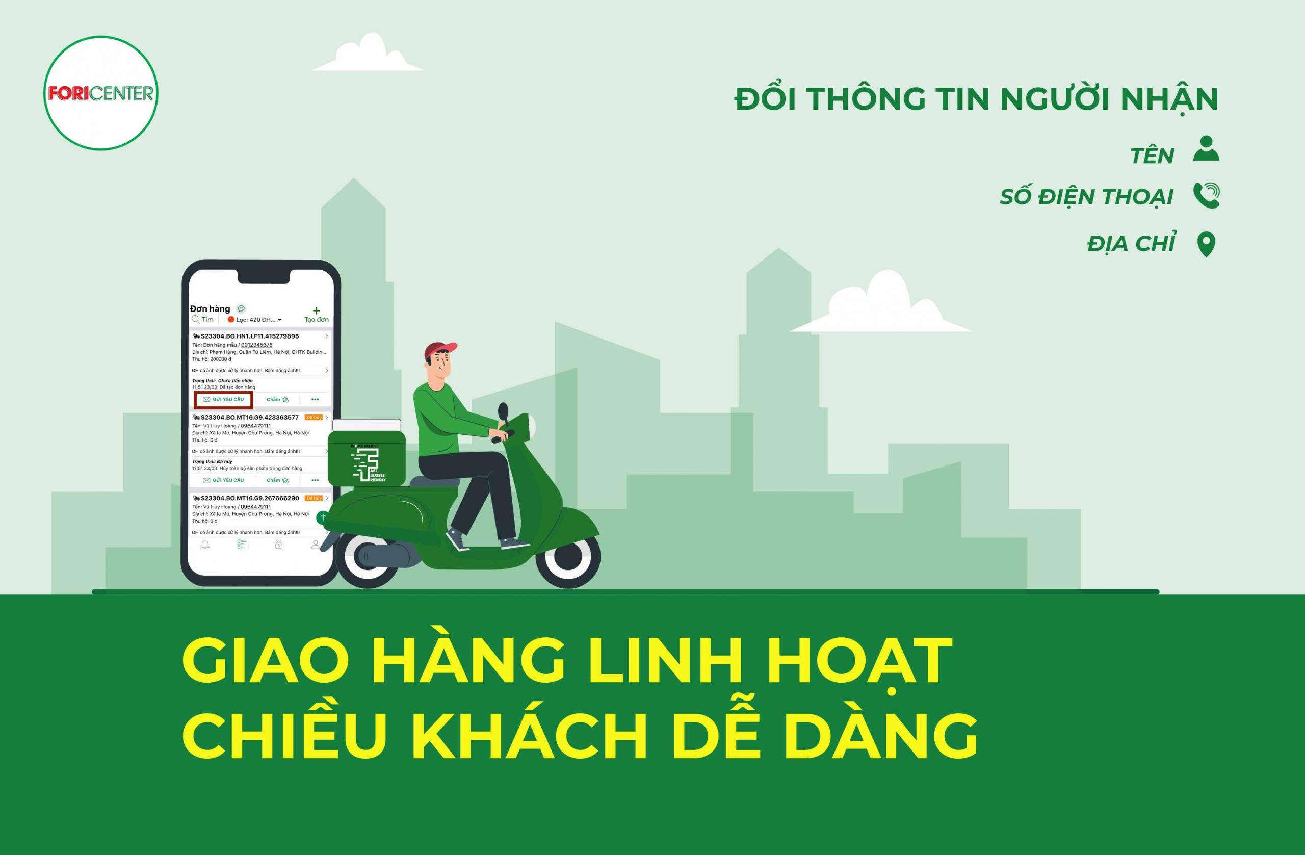 Sau khi chốt sale thành công, lấy được thông tin khách hàng bạn sẽ làm những công việc sau để tự lên đơn bằng app GHTK.